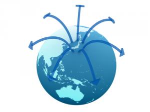 イーファックス,インターネットファクス,世界
